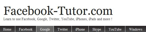 Facebook-tutor.com Logo
