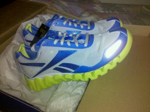 reebok zigpulse blue and yellow before they started to rip under very light wear conditions