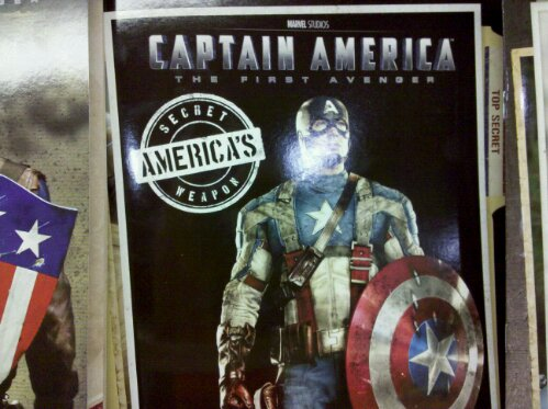 captain america movie book at wegmans