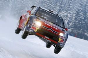Citroen WRC Airborne