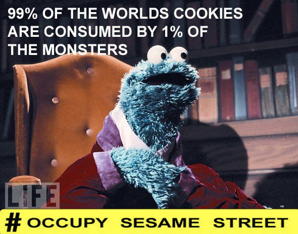 Occupy Sesame Street, Occupy Wall Street